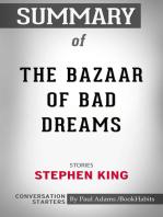 Summary of The Bazaar of Bad Dreams