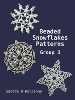 Beaded Snowflake Patterns Group 3