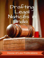Drafting Legal Notices in India