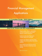 Financial Management Applications A Complete Guide - 2019 Edition