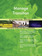 Manage Transition A Complete Guide - 2019 Edition