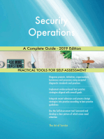 Security Operations A Complete Guide - 2019 Edition