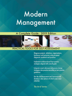Modern Management A Complete Guide - 2019 Edition