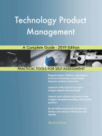 Technology Product Management A Complete Guide - 2019 Edition