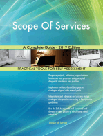 Scope Of Services A Complete Guide - 2019 Edition