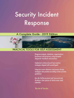 Security Incident Response A Complete Guide - 2019 Edition