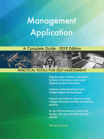 Management Application A Complete Guide - 2019 Edition
