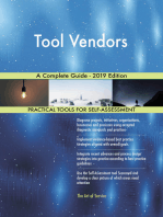 Tool Vendors A Complete Guide - 2019 Edition
