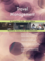 Travel Management A Complete Guide - 2019 Edition