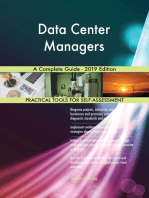Data Center Managers A Complete Guide - 2019 Edition
