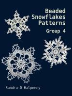 Beaded Snowflake Patterns