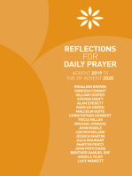 Reflections for Daily Prayer Advent 2019 to Eve of Advent 2020