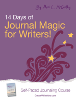 14 Days of Journal Magic for Writers!