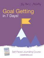 Goal Getting in 7 Days!