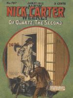 Doctor Quartz, the Second (Nick Carter #787)