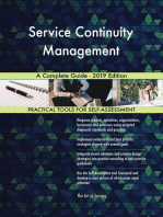 Service Continuity Management A Complete Guide - 2019 Edition