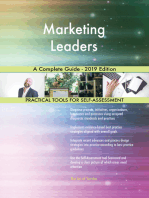 Marketing Leaders A Complete Guide - 2019 Edition