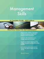 Management Skills A Complete Guide - 2019 Edition