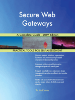 Secure Web Gateways A Complete Guide - 2019 Edition