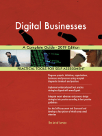 Digital Businesses A Complete Guide - 2019 Edition