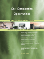 Cost Optimization Opportunities A Complete Guide - 2019 Edition