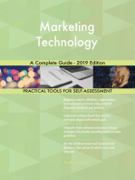 Marketing Technology A Complete Guide - 2019 Edition