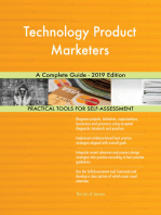 Technology Product Marketers A Complete Guide - 2019 Edition