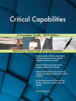 Critical Capabilities A Complete Guide - 2019 Edition