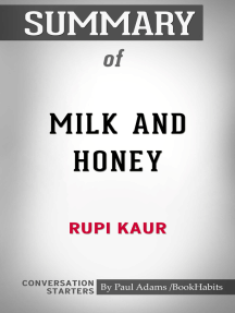 Summary of Milk and Honey