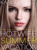 Hotwife Summer Vacation - A Hotwife Wife Watching Romance Novel