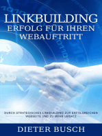 Linkbuilding - Erfolg für Ihren Webauftritt