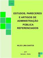 Estudos, Pareceres E Artigos De AdministraÇÃo PÚblica Referenciados
