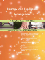 Strategy And Experience Management A Complete Guide - 2019 Edition