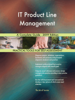IT Product Line Management A Complete Guide - 2019 Edition