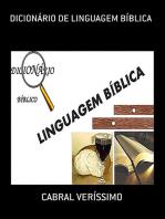 DicionÁrio De Linguagem BÍblica