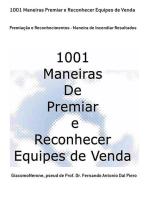 1001 Maneiras Premiar E Reconhecer Equipes De Venda