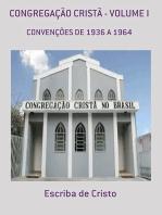 CongregaÇÃo Cristà Volume I