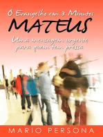 O Evangelho Em 3 Minutos Mateus
