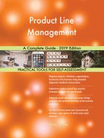 Product Line Management A Complete Guide - 2019 Edition