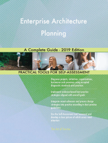 Enterprise Architecture Planning A Complete Guide - 2019 Edition