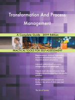 Transformation And Process Management A Complete Guide - 2019 Edition