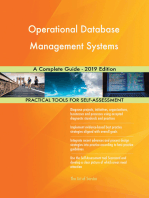 Operational Database Management Systems A Complete Guide - 2019 Edition