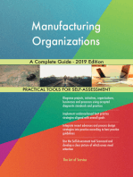 Manufacturing Organizations A Complete Guide - 2019 Edition