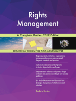 Rights Management A Complete Guide - 2019 Edition