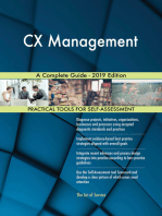 CX Management A Complete Guide - 2019 Edition
