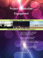 Project Stakeholder Engagement A Complete Guide - 2019 Edition