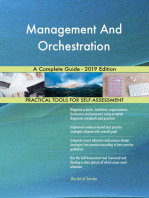 Management And Orchestration A Complete Guide - 2019 Edition