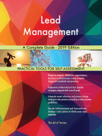 Lead Management A Complete Guide - 2019 Edition