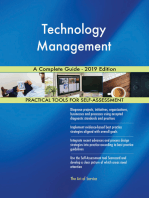 Technology Management A Complete Guide - 2019 Edition