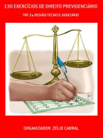 130 ExercÍcios De Direito PrevidenciÁrio